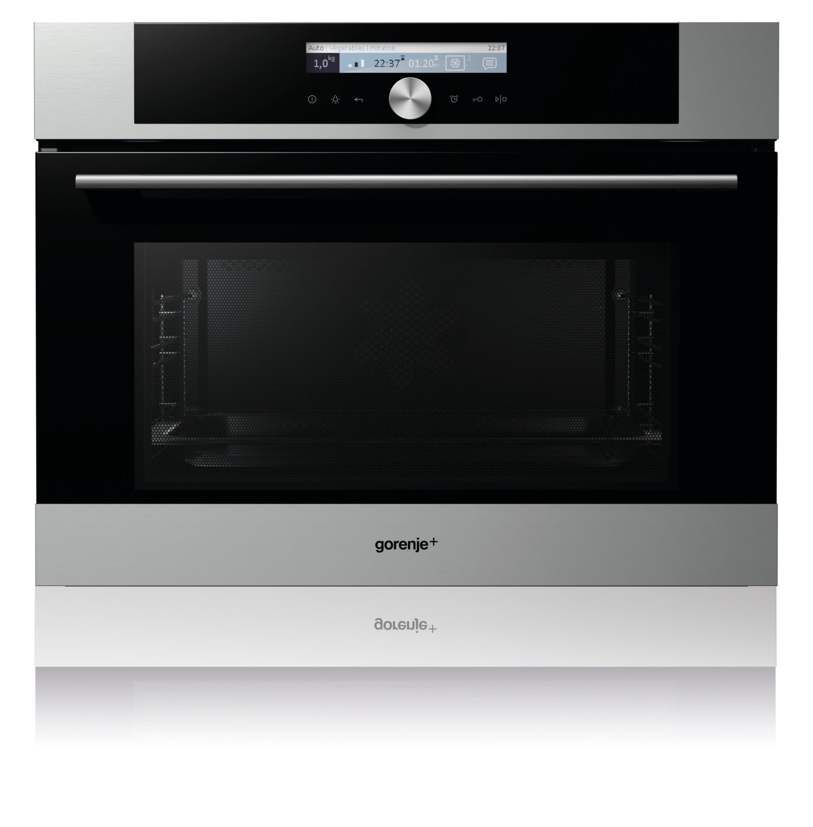 Built in compact microwave oven gom711x gorenje for Small built in microwave oven