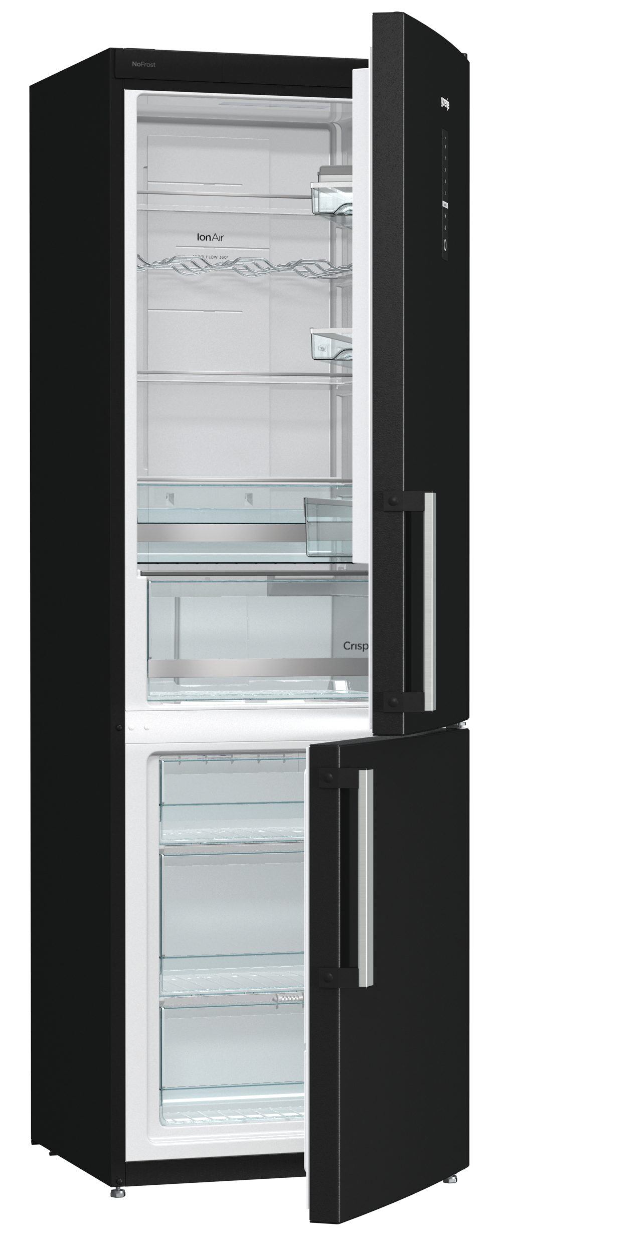 frigo combinato da libera installazione nrk6192mbk gorenje. Black Bedroom Furniture Sets. Home Design Ideas
