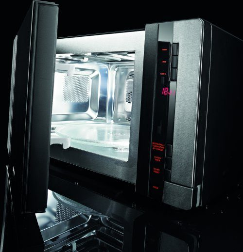 Interior Of Some Our Microwave Ovens Is Made Stainless Steel Which Leads To Excellent Cooking Results Improves Circulation