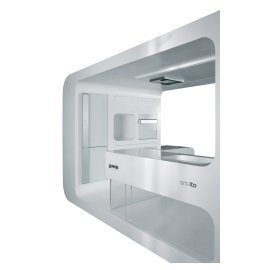 Ora-Ïto White Collection - Futuristic kitchen.