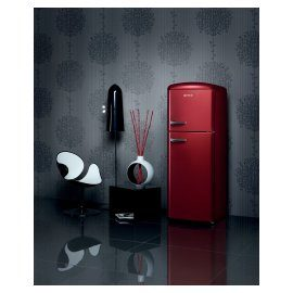 Bordeaux refridgerator Gorenje Retro Chic Collection