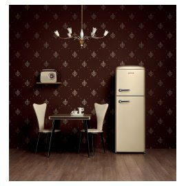 Champagne refridgerator Gorenje Retro Vintage Collection.