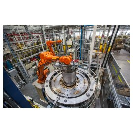 Robotic preassembly of ASKO washing appliances