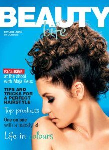 Magazine listing - Beauty collection brochure