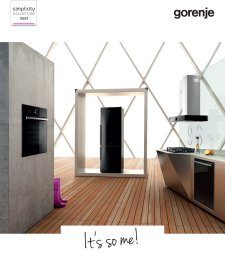 Magazine listing - New appliances 2015