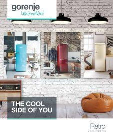 Magazine listing - Gorenje retro Collection