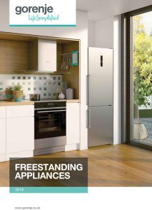 Magazine listing - Freestanding Appliances