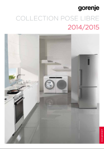 Liste de magasin - Catalogue Pose-libre Collection 2014/2015