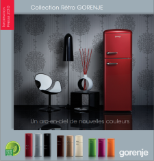 Liste de magasin - Collection Gorenje Rétro