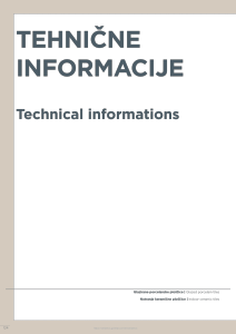 Magazine listing - Technical informations