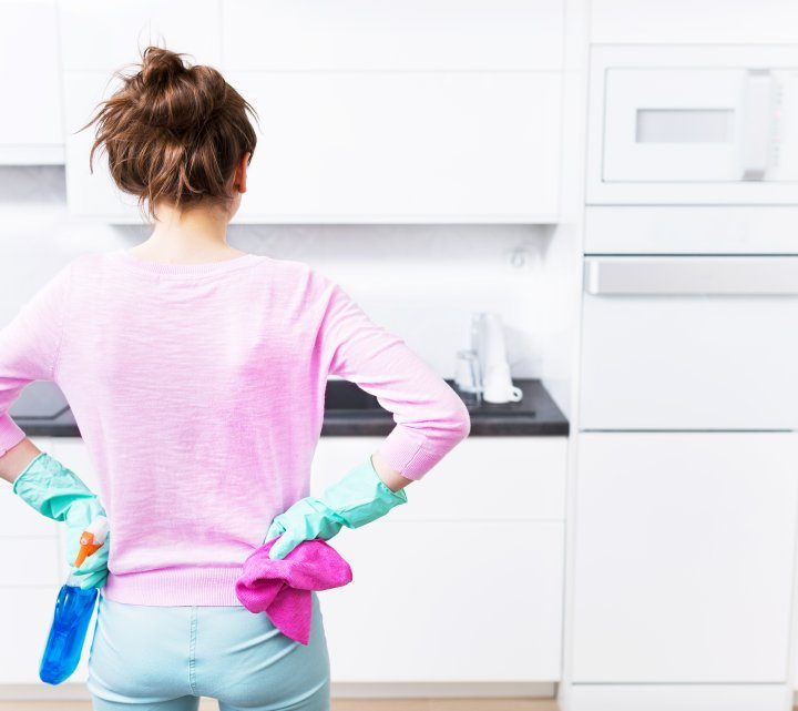 The easy way to clean your kitchen, refrigerator and other useful tips