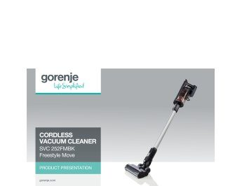 Cordless vacuum cleaner Freestyle Move SVC252FMBK presentation
