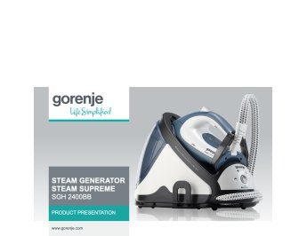 Iron steam generator SGH2400BB