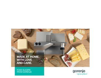 Gorenje food slicers