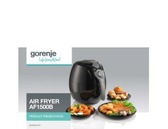 Air fryer AF1500B presentation