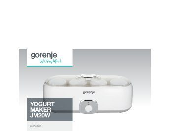 Yogurt maker JM20W presentation