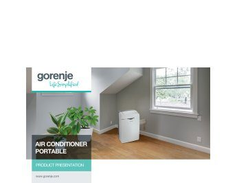 Air conditioner portable presentation