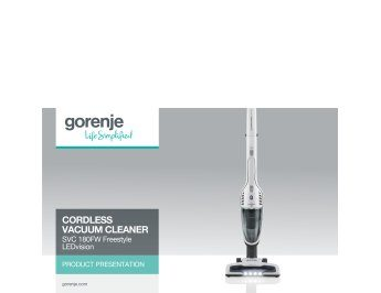 Cordless vacuum cleaner SVC180FW Freestyle presentation