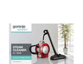 Steam Cleaner SC 1800R