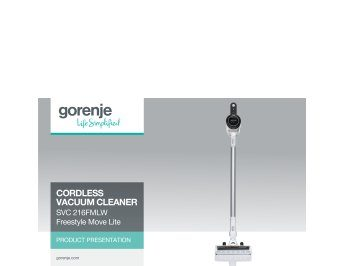 Cordless vacuum cleaner SVC216FMLW Freestyle Move Lite presentation