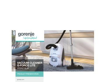 Vacuum cleaner G·Force Lite VCEA21GLW