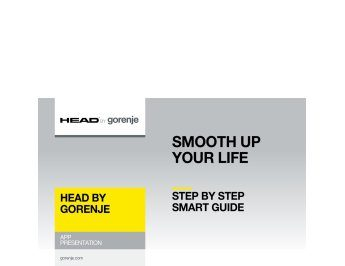 HEAD - app Step by Step