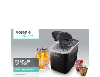 Ice Maker IMC1200B presentation