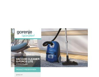Vacuum cleaner G·Force Lite VCEA22GLBU