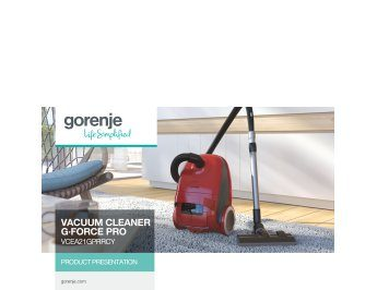 Vacuum cleaner G·Force Pro VCEA21GPRRCY