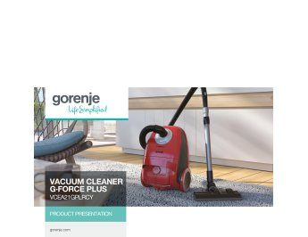 Vacuum cleaner G·Force Plus VCEA21GPLRCY