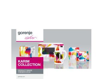 Karim Rashid collection presentation