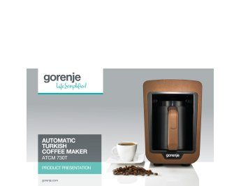 Automatic Turkish coffee maker ATCM730T presentation