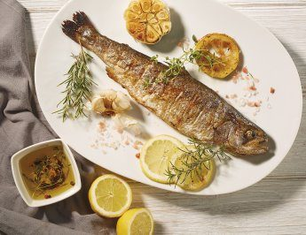 Grilled fish for a light summer dinner