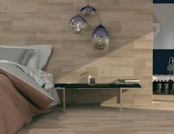 Glazed fine porcelain tiles