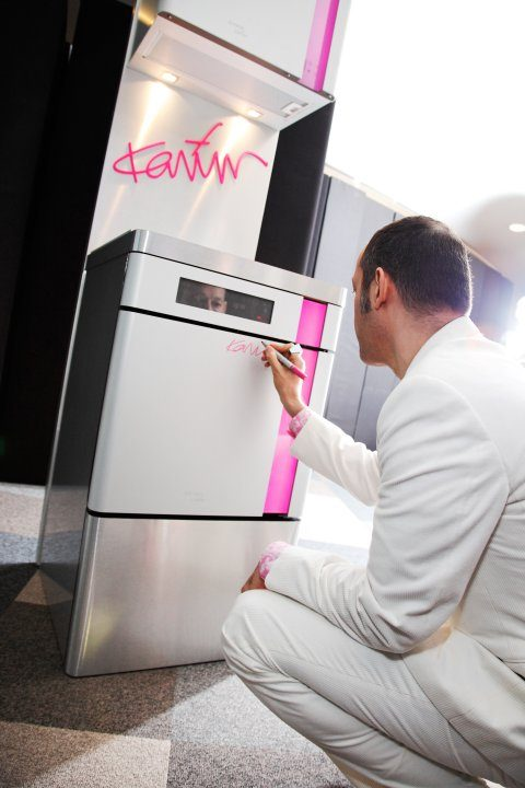 Gold Innovation Award for Gorenje designed by Karim Rashid Collection