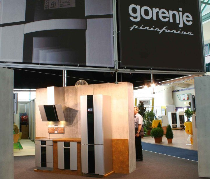 Gorenje at the fair Futura 2008