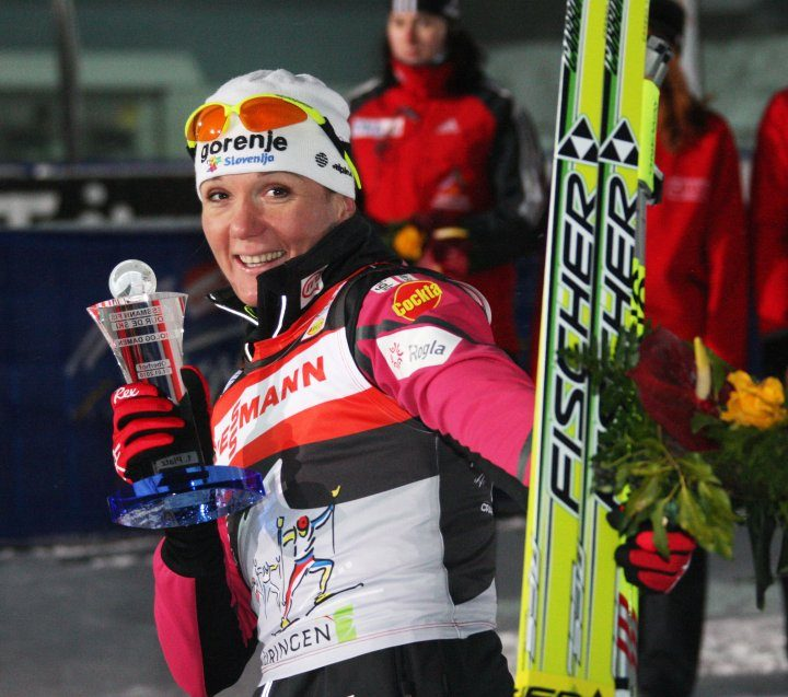 Second victory for Petra Majdic in Oberhof
