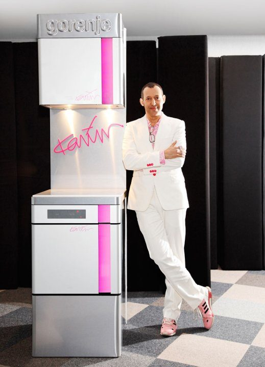 La collection Gorenje signée Karim Rashid reçoit la medaille d'or de l'innovation