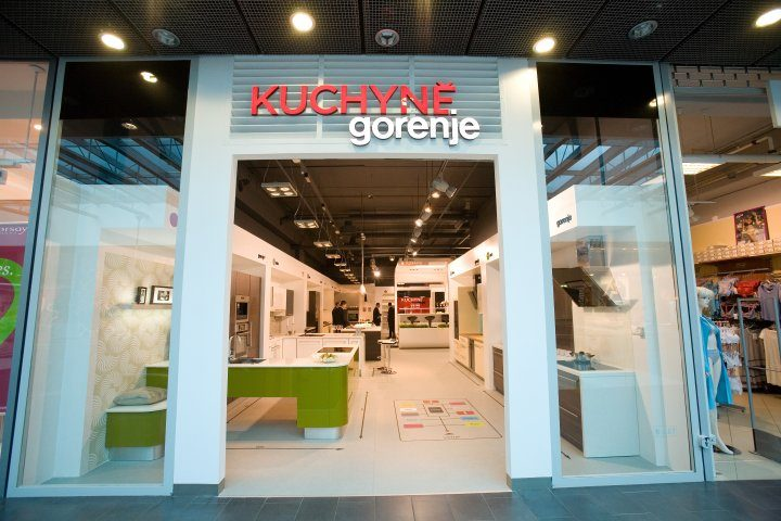 First kitchen studio Kuchyně Gorenje opened in Czech Republic