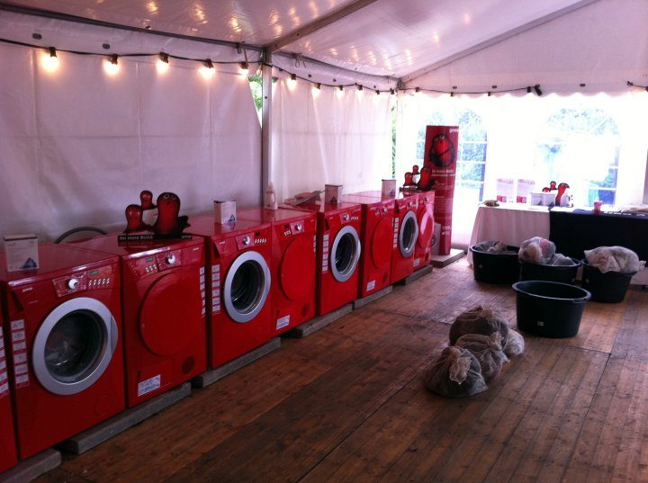 RedSet Laundrette by Gorenje at Roskilde Festival