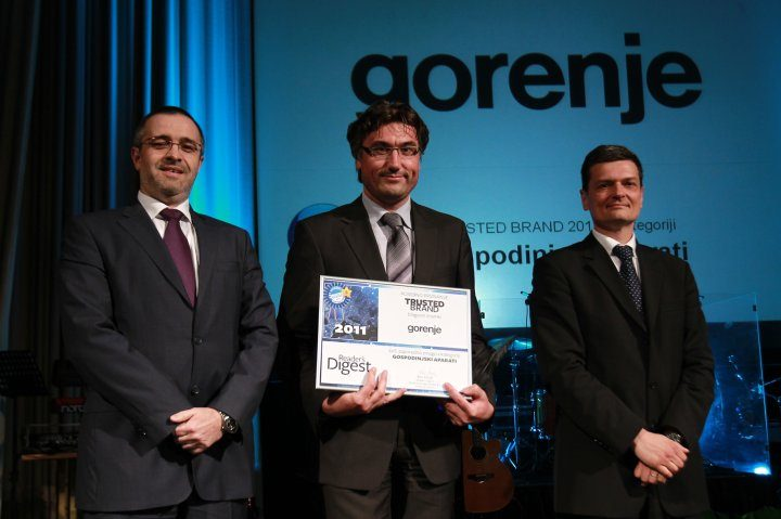 Gorenje is a Trusted Brand