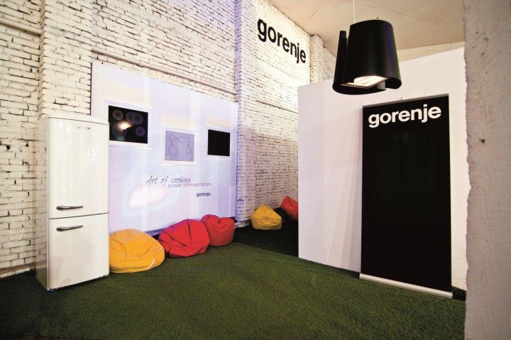 Gorenje at the Mikser Expo Festival 2012