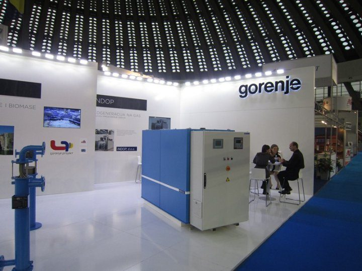 Bronze award for the exhibition area at the Energetika tradeshow in Belgrade