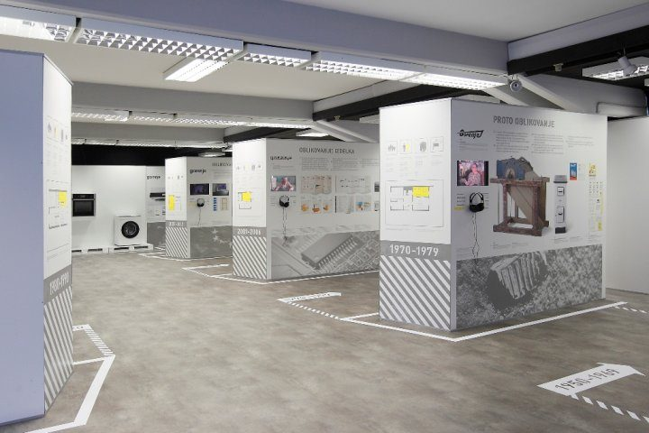 Exhibition showcasing Gorenje Design opens at the Velenje Gallery