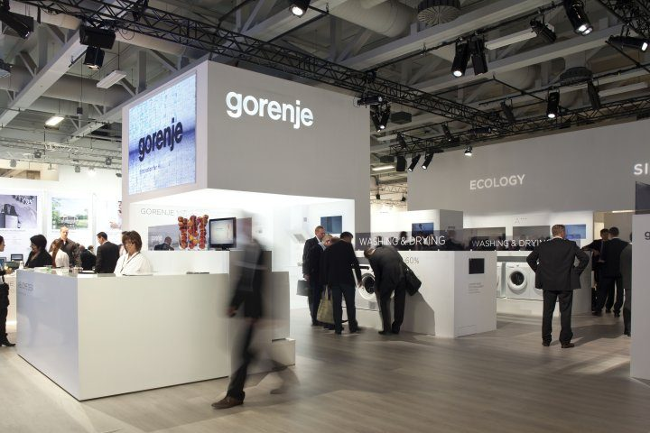 Gorenje makes a successful appearance at Berlin's IFA tradeshow