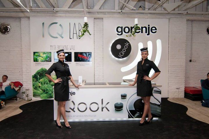 IQcook launched at the Mikser festival in Serbia