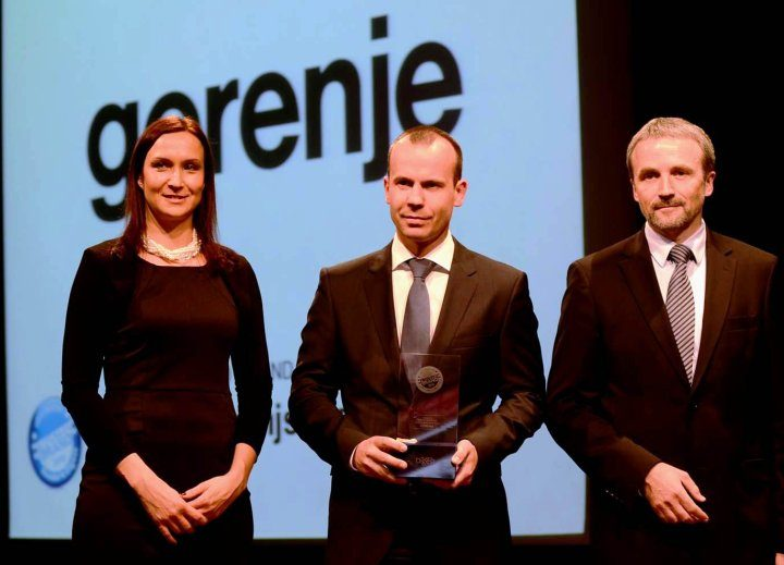 Gorenje voted the most trusted home appliance brand in Slovenia
