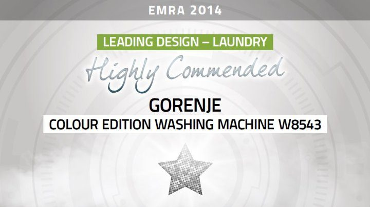 Gorenje receives 'Highly Commended' status