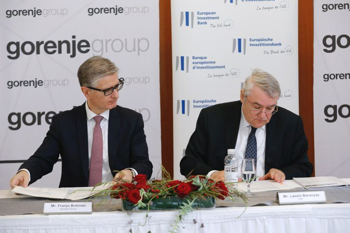 EIB provides EUR 50 million to Gorenje to develop a new generation of domestic appliances
