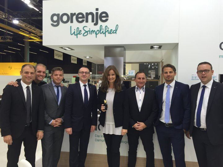 Gorenje Austria wins the Supplier of the year award